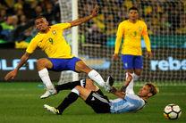 پیروزی آرژانتین مقابل برزیل در سوپر کلاسیکو