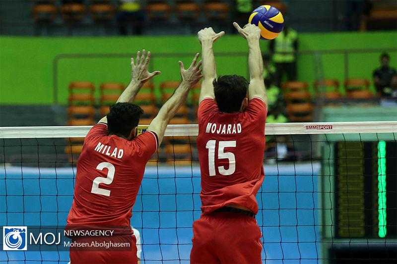گزارش بازی والیبال ایران و مصر/  ایران 1 مصر3