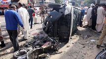 انفجار بمب در حسینیه شیعیان در مرز پاکستان و افغانستان