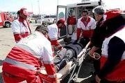امداد رسانی هلال احمر به 129 حادثه دیده در اصفهان