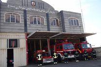 آماده باش 136 آتش نشان سنندجی برای مقابله با حوادث احتمالی چهارشنبه آخر سال