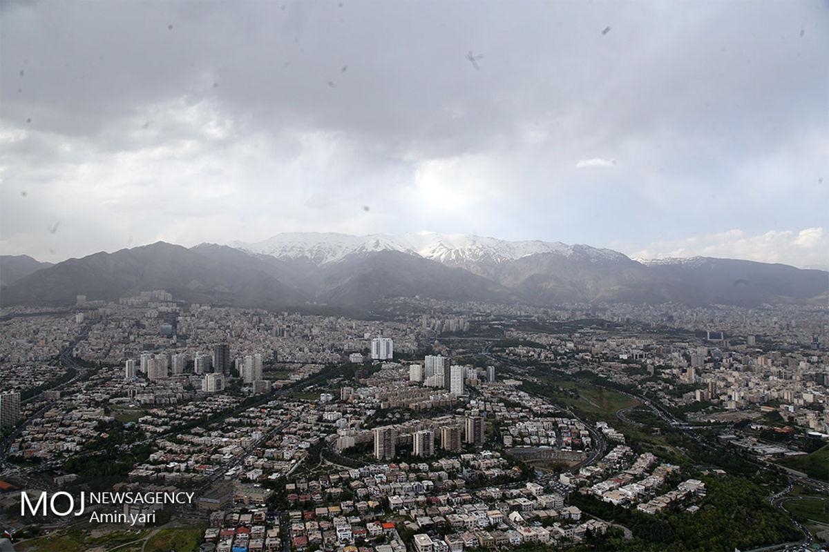 کیفیت هوای تهران ۲ بهمن ۹۹ /شاخص کیفیت هوا به ۵۹ رسید