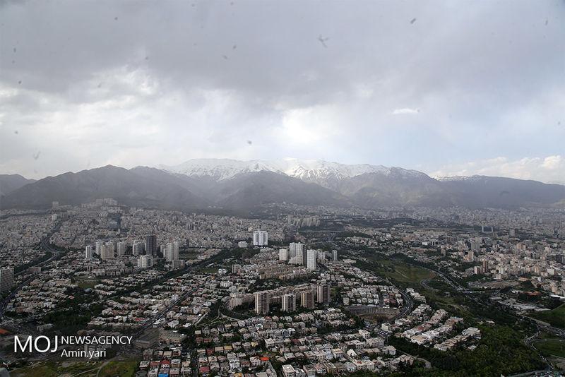 کیفیت هوای تهران ۱۷ بهمن ۹۸ سالم است/ شاخص کیفیت هوا به ۸۳ رسید