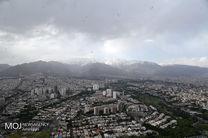 کیفیت هوای تهران ۱۵ فروردین ۱۴۰۰/ شاخص کیفیت هوا به ۵۷ رسید