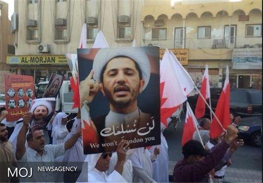 تظاهرات گسترده مردم بحرین علیه رژیم آل خلیفه در منامه