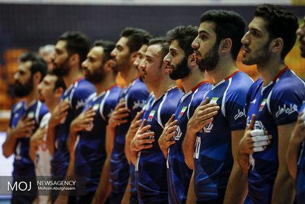 دیدار+تیم+های+والیبال+ایران+و+صربستان