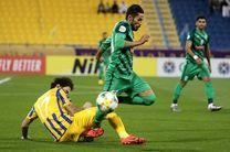 نتیجه نیمه نخست بازی رفت الاتحاد عربستان و ذوب آهن