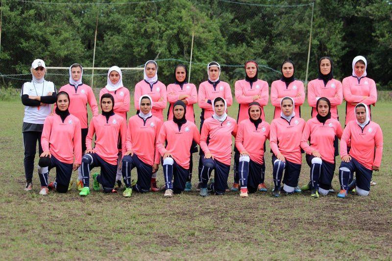 تیم فوتبال بانوان ملوان در حال آماده سازی برای حضور در لیگ برتر است