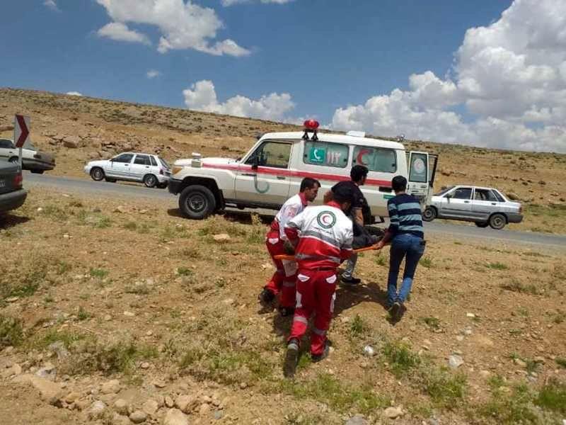 پوشش امدادی 69  حادثه توسط امدادگران هلال احمر در اصفهان