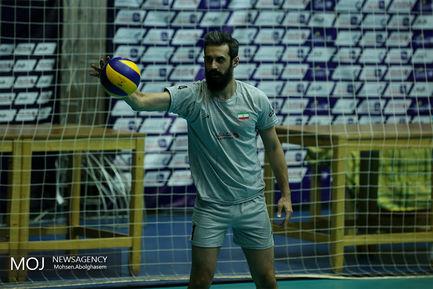 تمرین تیم ملی والیبال قبل از بازی های آسیایی