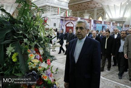 تجدید میثاق وزیر و پرسنل وزارت نیرو با آرمانهای بنیانگذار انقلاب اسلامی