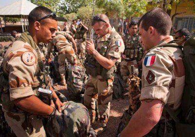 کشته شدن چترباز فرانسوی در مرز عراق و سوریه