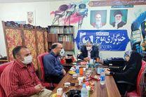 بازدید مدیرکل راهداری و حمل و نقل جادهای استان قم از دفتر سرپرستی خبرگزاری موج در قم