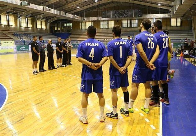 آغاز دومین اردوی تیم ملی هندبال بزرگسالان