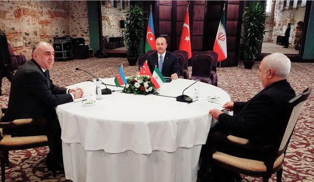 آغاز ششمین نشست وزرای امور خارجه ایران، ترکیه و آذربایجان