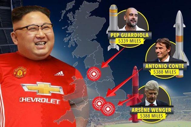 علاقه رهبر کره شمالی به منچستر یونایتد