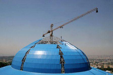 محوطه سازی پروژه مقبره الشهدا تا پایان سال