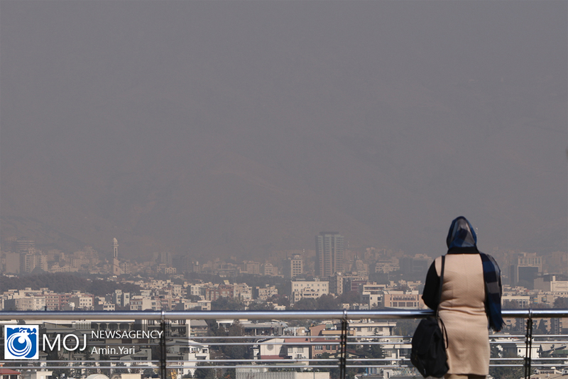 کیفیت هوای تهران ۲۲ مهر ۹۹/ شاخص کیفیت هوا به ۱۳۱ رسید