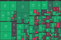 شاخص بورس در جریان معاملات امروز ۲۵ آبان ۹۹/ شاخص امروز هم سبز ماند