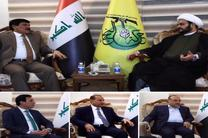 دیدار مشاور حیدر العبادی و سفیر سوریه با دبیرکل نُجَبا