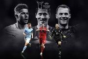 یوفا نامزدهای نهایی بهترین بازیکنان سال ۲۰۲۰ را اعلام کرد