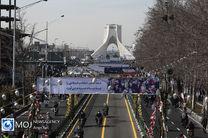 راهپیمایی ویژه و متفاوت ۲۲ بهمن در فجر ۴۲/ سامانه پدافندی سوم خرداد به نمایش درآمد