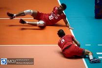 نتیجه بازی والیبال ایران و لهستان/ باخت ایران مقابل لهستان در شیکاگو