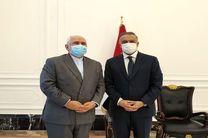 رایزنی ظریف با نخست وزیر عراق در بغداد