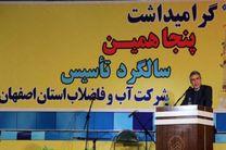 آبفا اصفهان به رشد قابل توجهی در صنعت آب و فاضلاب کشور دست یافته است