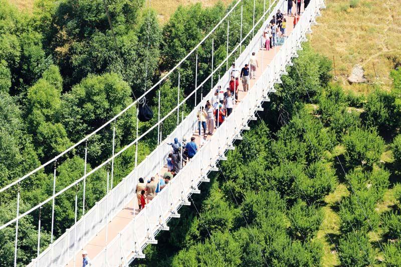 کاهش 15 درصدی گردشگران نوروزی در استان اردبیل