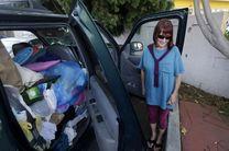 آمریکایی های بی خانمان در خودرو زندگی می گذرانند