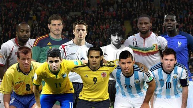 بزرگانی که در جام جهانی جوانان چهره شدند