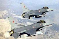 جنگنده های ترکیه جنگلی را در سیدکان اربیل عراق به آتش کشیدند