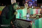 وداع با پیکرهای مطهر 135 شهید گمنام دوران دفاع مقدس