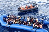 نجات شش مهاجر ایرانی در دریا توسط فرانسه
