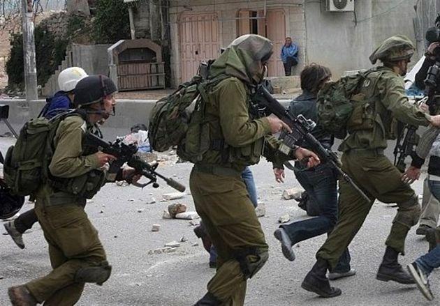 حمله نظامیان صهیونیست به فلسطینیان در سالگرد جنایت حرم ابراهیمی