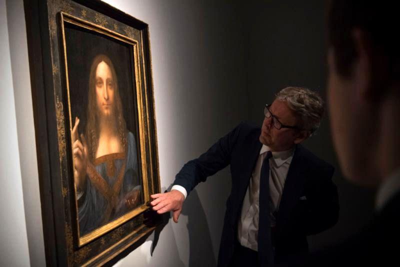 نقاشی «سالواتور موندی» رکورد گرانترین اثر نقاشی را زد