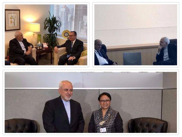 برجام و مسائل منطقه محور مذاکرات ظریف با وزیر امور خارجه الجزایر