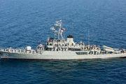 آئین الحاق ناوشکن بایندر به منطقه سوم نیروی دریایی ارتش برگزار شد