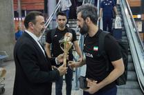 کاروان تیم ملی والیبال ایران وارد کشور شد