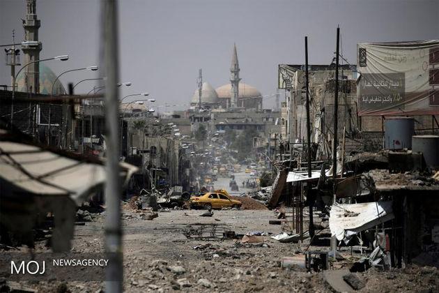 حملات انتحاری ها به بخش شرقی موصل