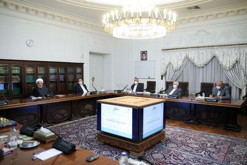 برگزاری جلسه ستاد هماهنگی اقتصادی دولت با حضور روحانی