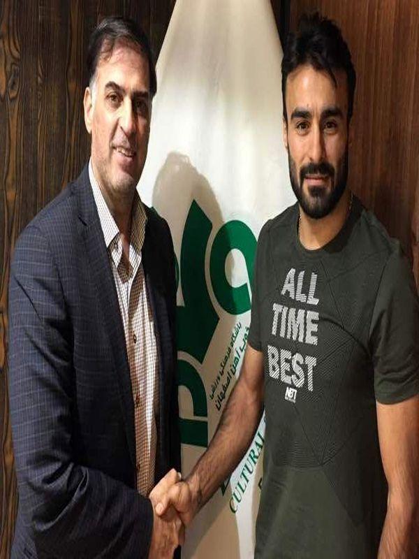 مسعود ابراهیم زاده قراردادی دو ساله با ذوب آهن بست