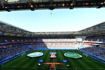 برتری اروگوئه مقابل عربستان در نیمه نخست