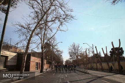 دوچرخه سواری شهرداران کلانشهر ها در سه شنبه های بدون خودرو