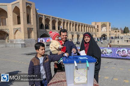 حضور پرشور مردم در انتخابات یازدهمین دوره مجلس در اصفهان
