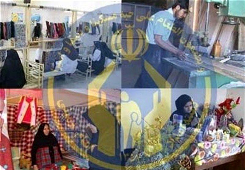 رشد ۲۵ درصدی تولید و اشتغال مددجویان کمیته امداد در اصفهان