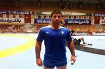 حضور سعید عبدولی در اردوی تیم ملی کشتی فرنگی