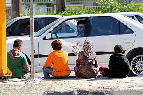 به کودکان خیابانی پول ندهید ۵۵ درصد آن ها ایرانی نیستند