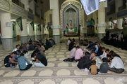 پذیرایی مددجویان کمیته امداد در اجرای طرح اطعام نیازمندان و ایتام ماه رمضان